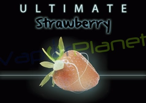 ULTIMATE STRAWBERRY drops eliquids 30 ml