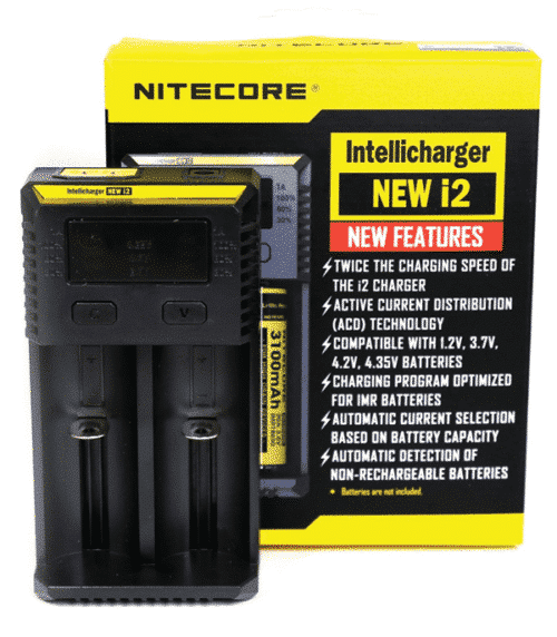 Cargador NEW I2 Intellicharger Nitecore