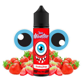Juice Monster Strawberry Savage 50ml Shortfill