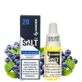 FRUTOS DEL BOSQUE HANGSEN SALTS 10 ml 20 mg Líquido con SALES DE NICOTINA